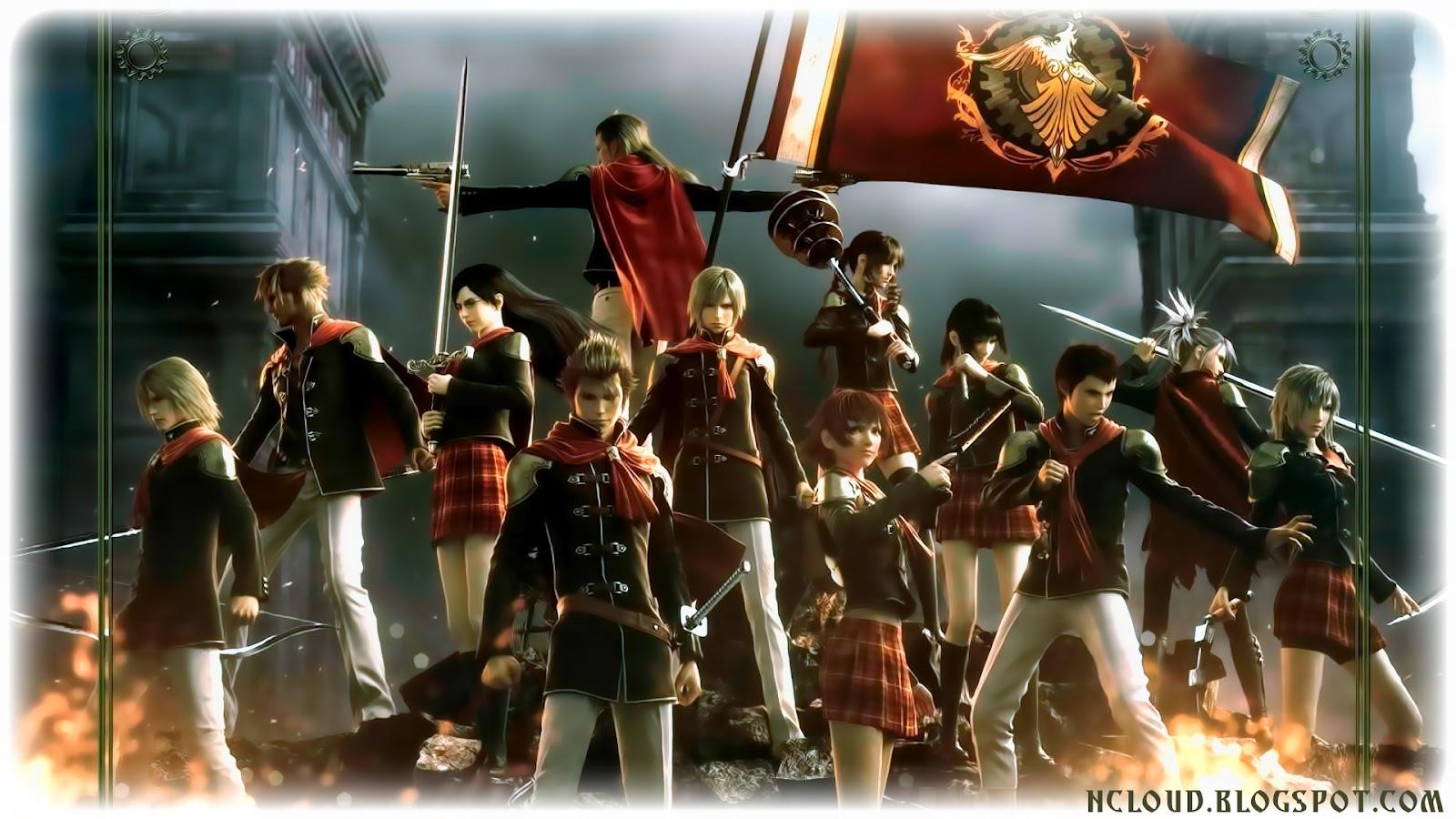 Final Kingdom: Final Fantasy Type-0 Wallpapers