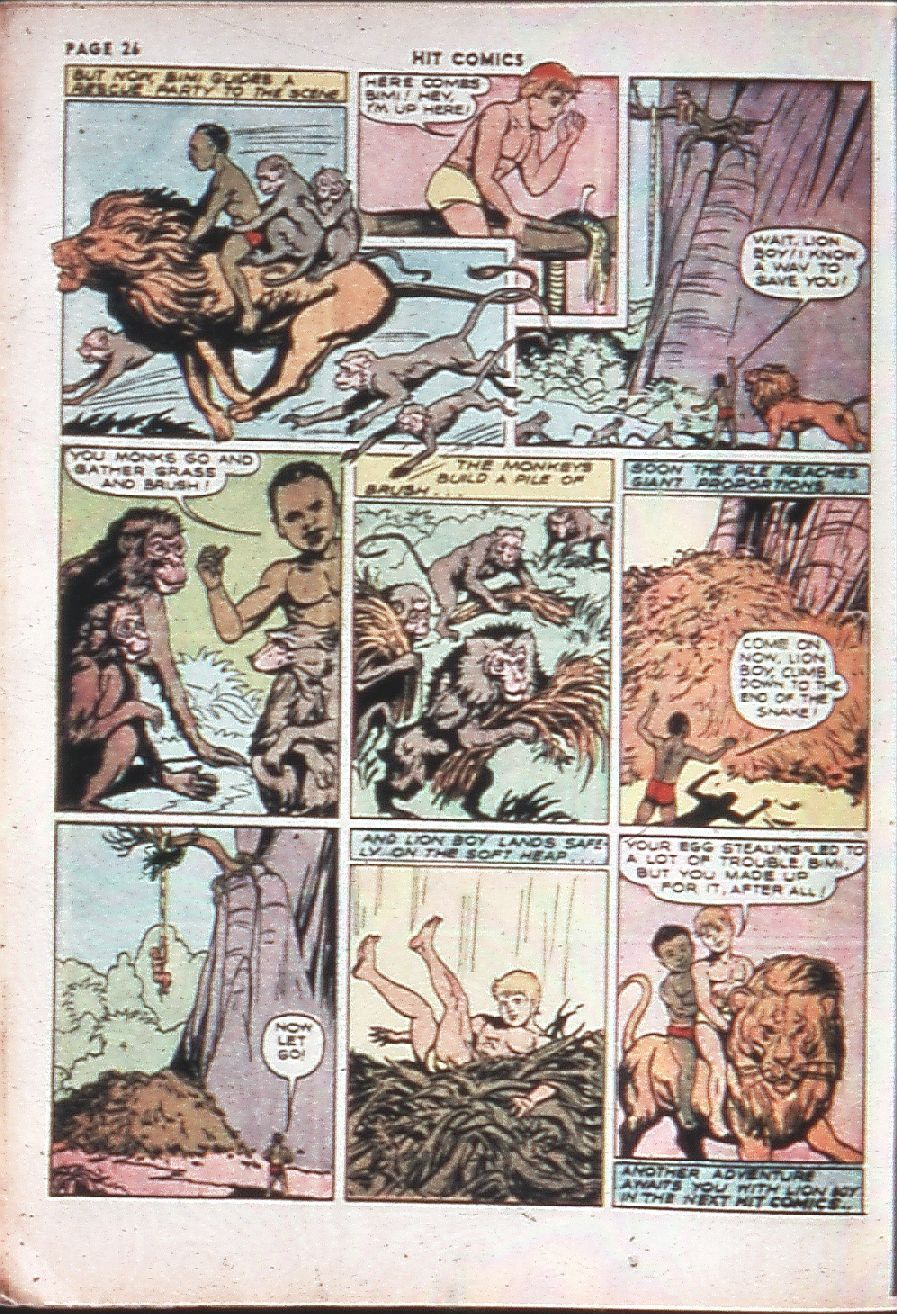 Read online Hit Comics comic -  Issue #10 - 28