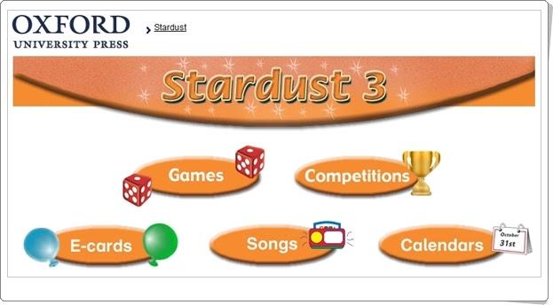 """""""Stardust"""". Inglés de 3º Nivel de Educación Primaria. Editorial Oxford."""