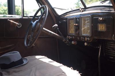 Grampa's Car12x18 aluminum