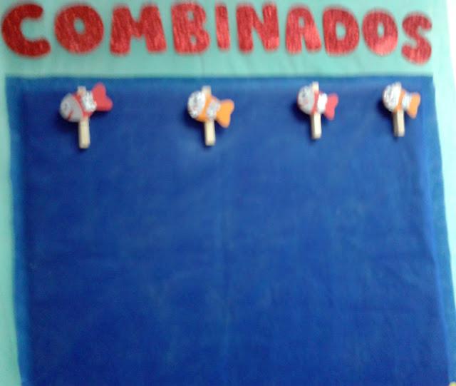 modelo de painel para combinados - Educação Infantil