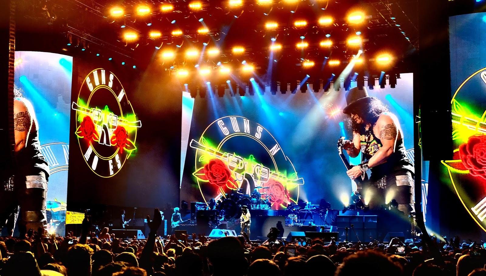 Guns N' Roses Still Reaches More Than 5 Million Fans