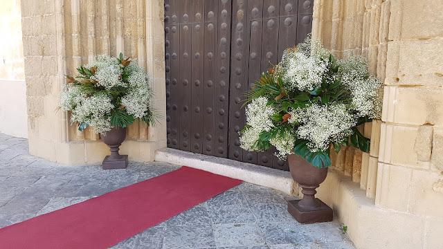 Decoración de iglesias para una boda