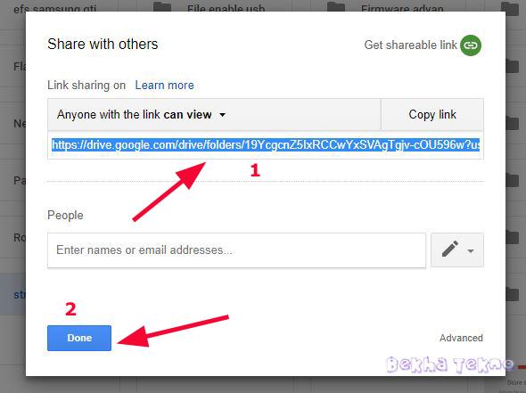 Tutorial Cara Membuat Link Shortcut Google Drive Milik Kita Dan Cara Share Ke Artikel Blog Sampai Berhasil Dengan Mudah Sekali
