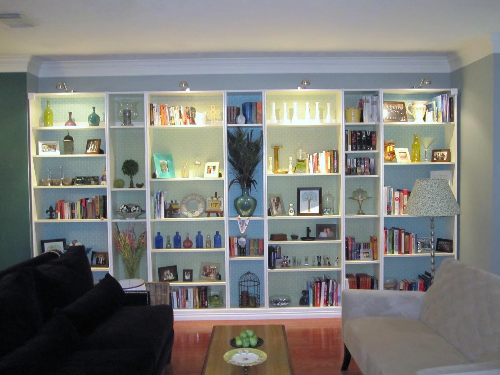 Ikea Hack Bookcase: Lazy Owl Boutique: Ikea Hack: Built-in Bookshelves Tutorial