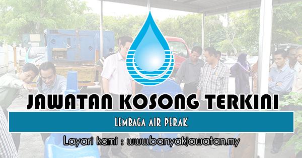 Jawatan Kosong 2019 di Lembaga Air Perak