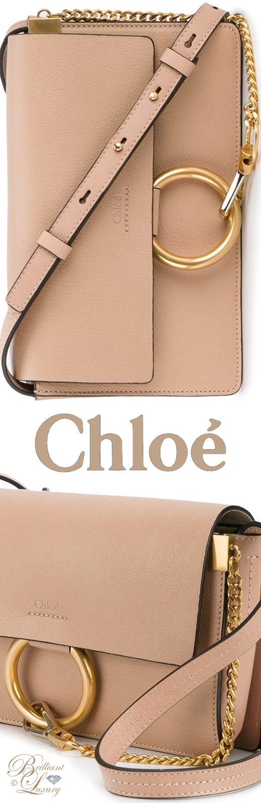 Brilliant Luxury ♦ Chloé Small Faye Shoulder Bag