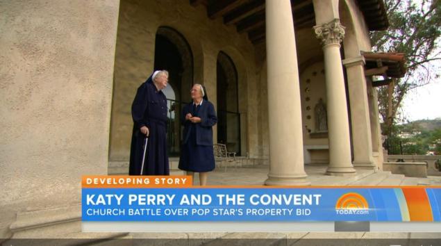 Dua Biarawati Tolak Penjualan Biara Kepada Katy Perry
