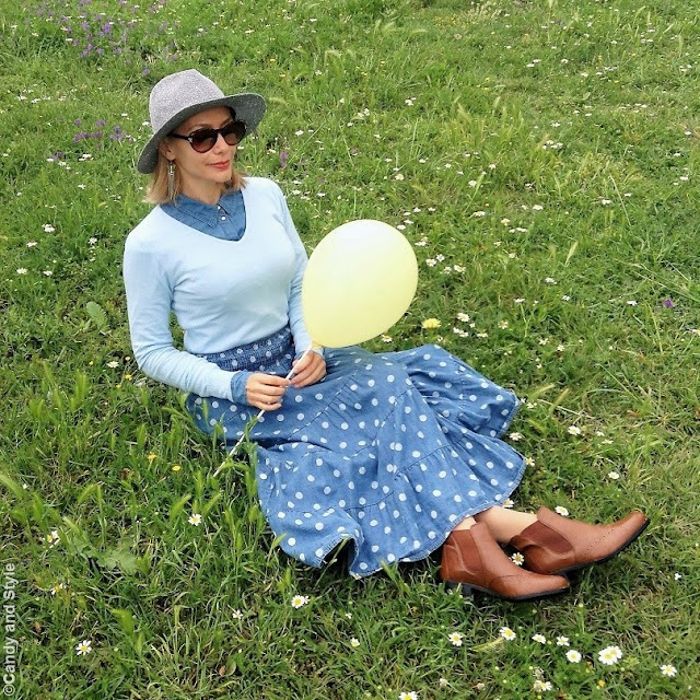 Polka Dots + Balloons | Candy and Style