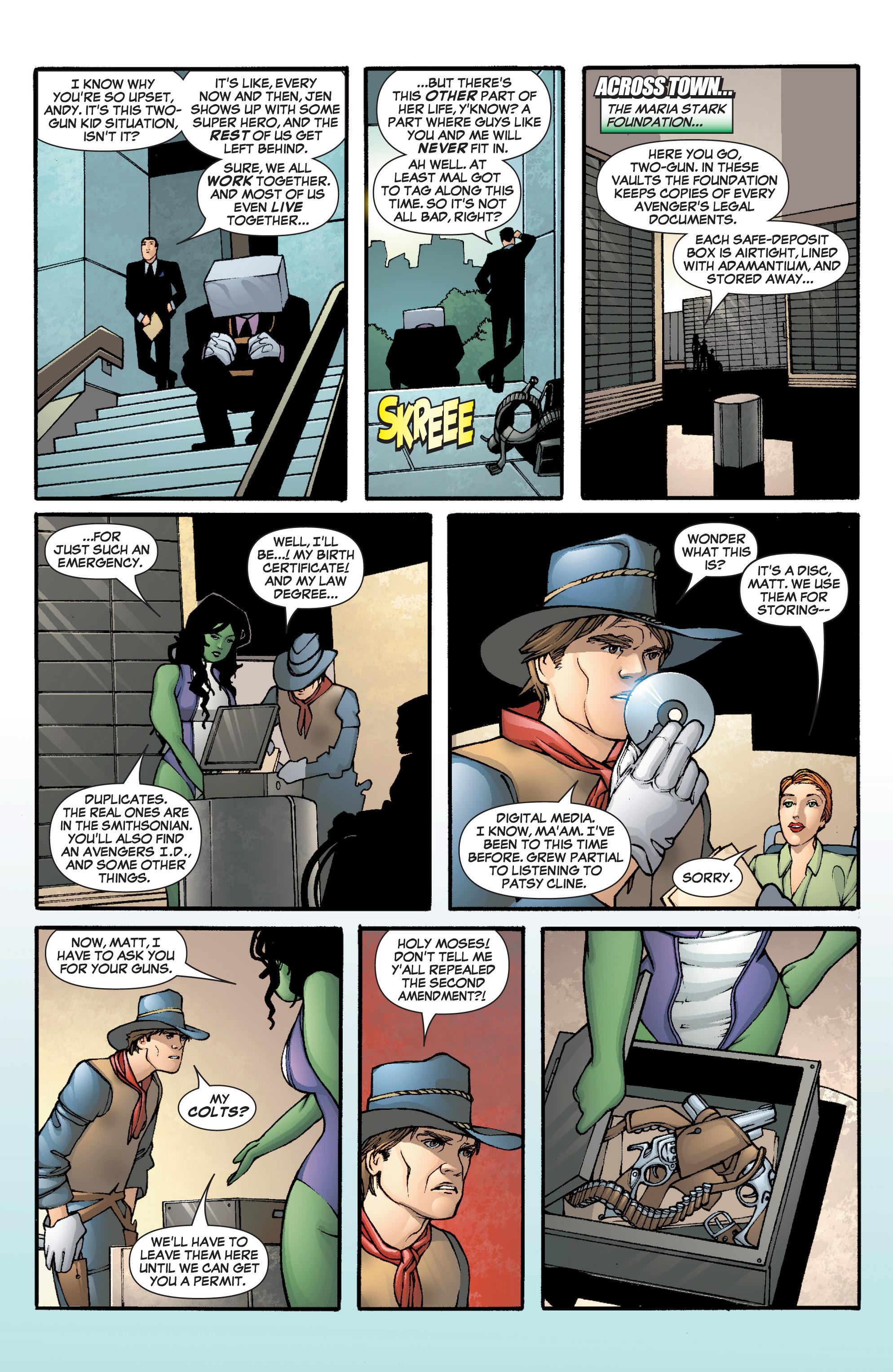 Read online She-Hulk (2005) comic -  Issue #5 - 12