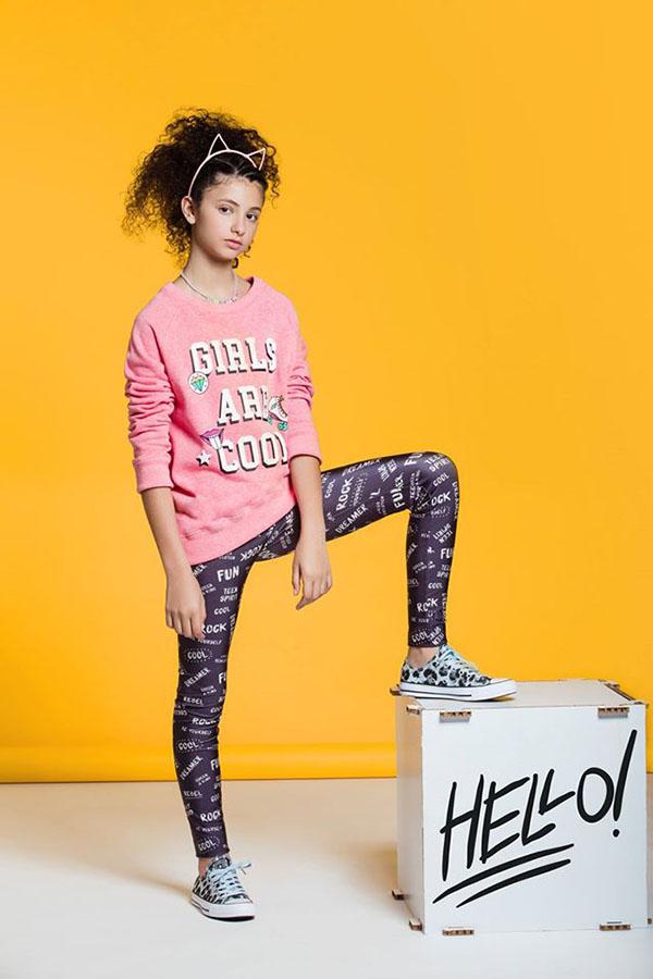 ropa de moda para niñas invierno 2017
