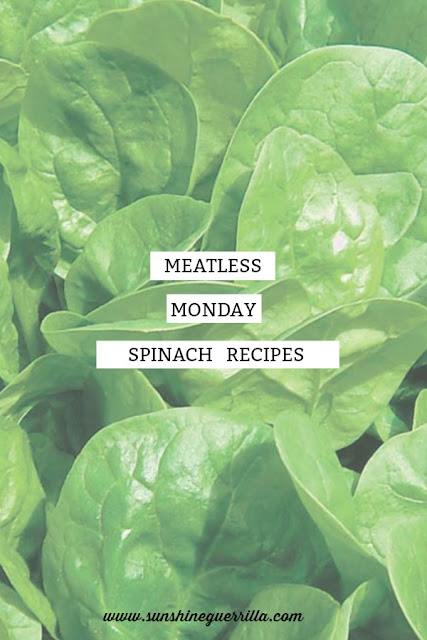 vegetarian spinach recipes for meat eaters