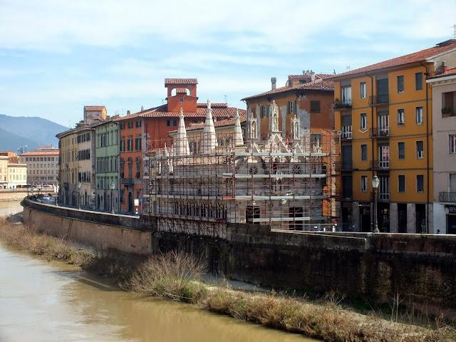 Santa María della Spina en Pisa