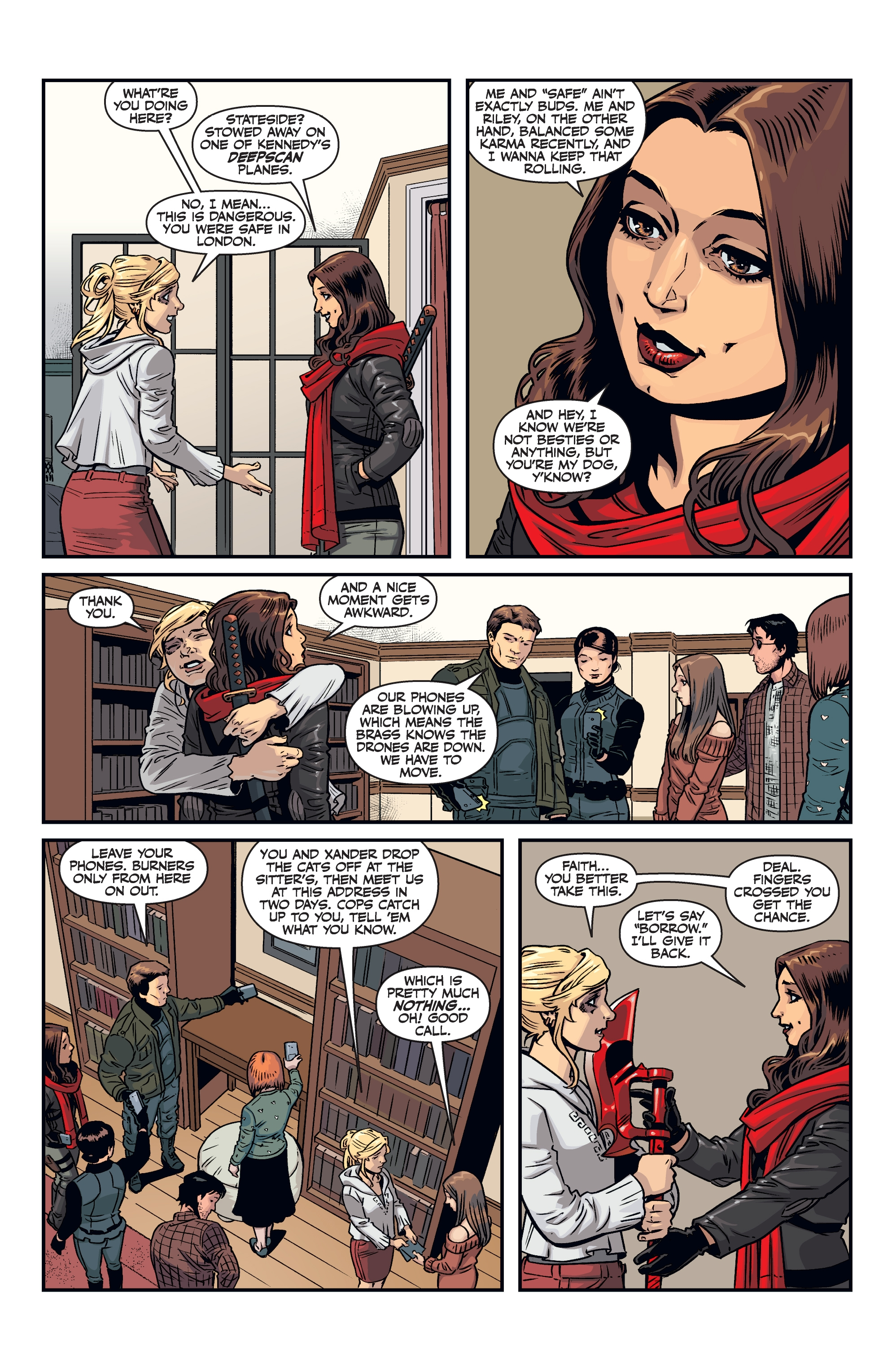 Read online Buffy the Vampire Slayer Season 11 comic -  Issue #8 - 21