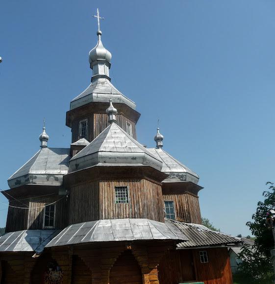 Тисів. Свято-Введенська церква.  1783 р.