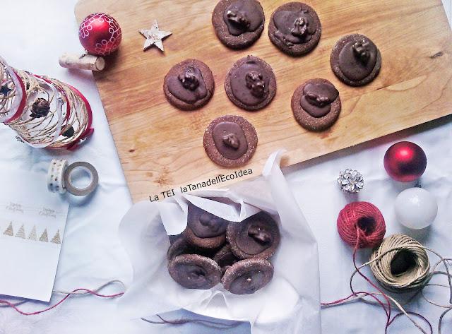 Biscotti al cioccolato enoci di natale