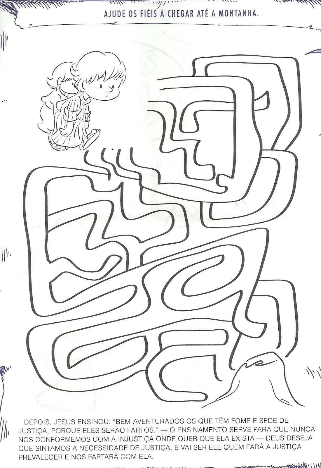 Resultado de imagem para sermão do monte para pintar