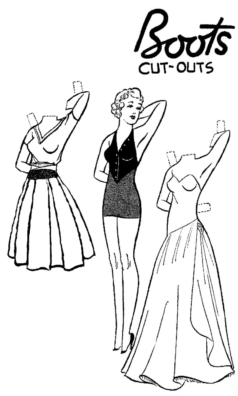 Mostly Paper Dolls Too!: January 2014