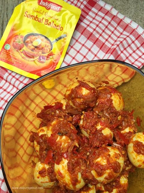 Resep Masak Telur Balado : resep, masak, telur, balado, Telor, Sambal, Balado, Indofood, Dapur, Ngebut