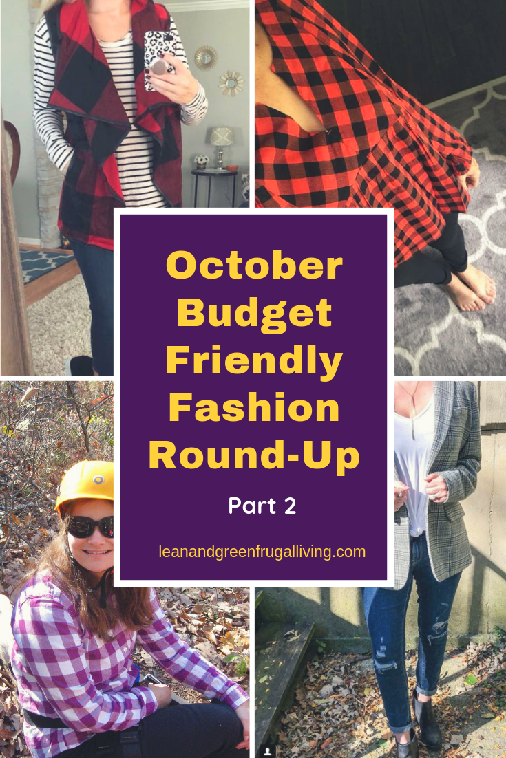 October Budget Friendly Fashion Round-Up Part 2
