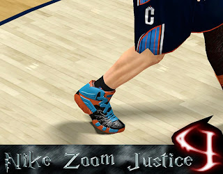NBA 2K13 Fictional Nike Zoom Kicks Mod