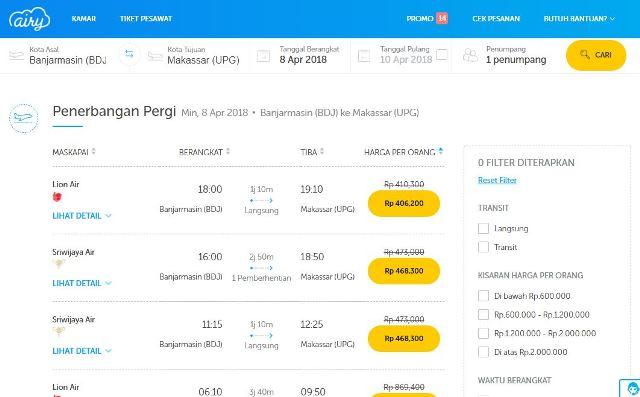 Pengalaman Beli Tiket Pesawat Di Airy Perbandingan Dengan
