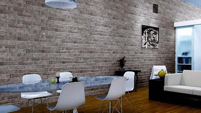 Dinding batu bata