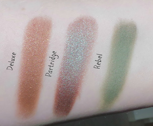 colour pop eyeshadow swatches,