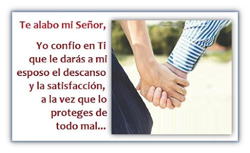 Una Oración para mi Esposo - Que Dios satisfaga su Alma y lo Proteja de todo Mal