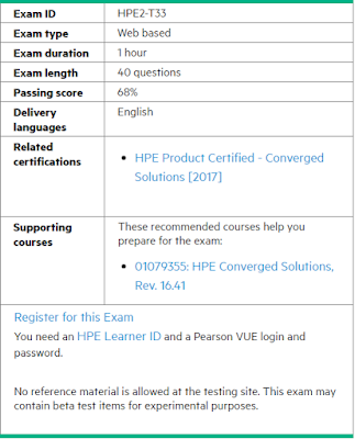 Practice Questions HPE2-T33 and Answers of Certification Dumps