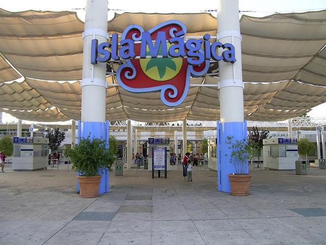 Isla Mágica em Sevilha