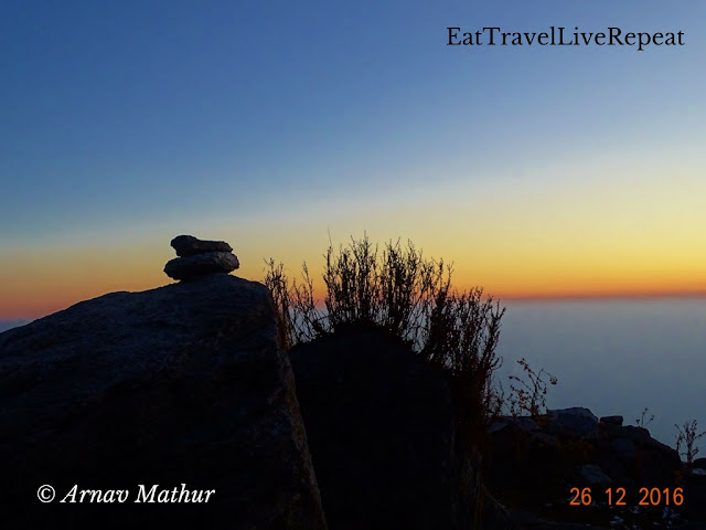 Sunsets at triund