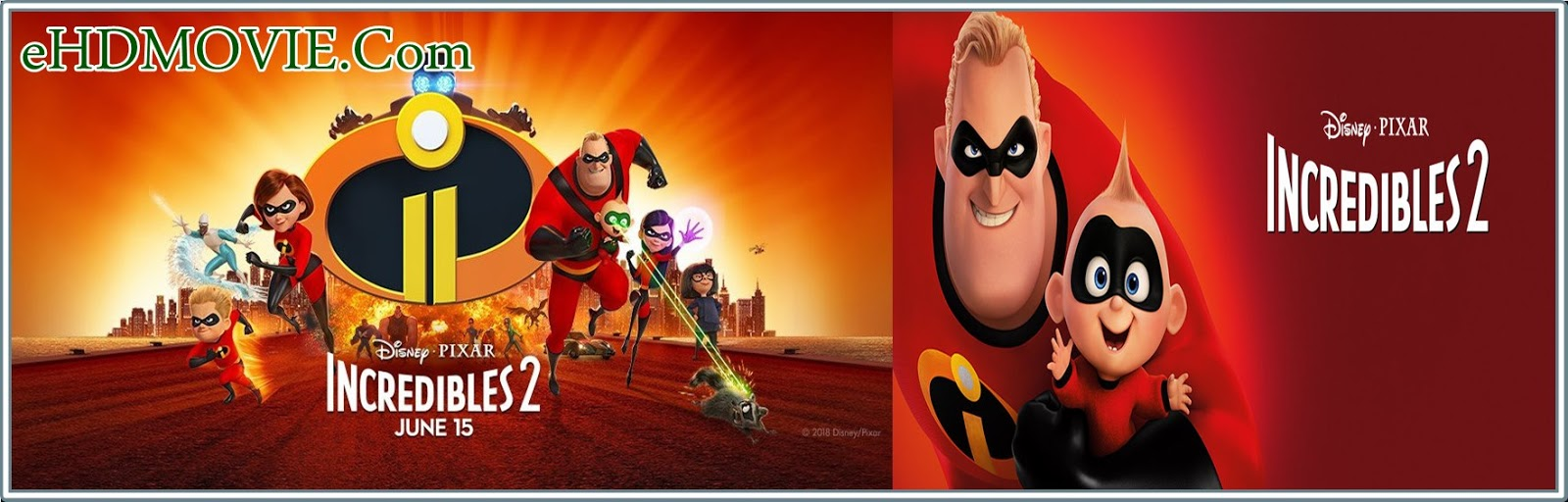 Incredibles 2 2018 Full Movie Dual Audio [Hindi – English] 720p - HEVC - 480p ORG WEB-DL 350MB - 600MB - 1GB ESubs Free Download