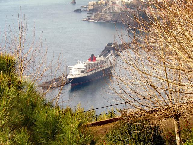 o Queen Mary 2 não deixa ninguém indiferente