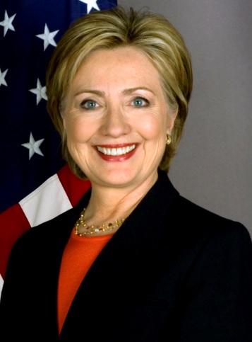 Foto de Hillary Clinton sonriendo