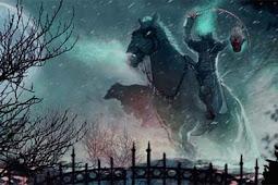 Eerie Headless Horseman The Legend Of Dullahan