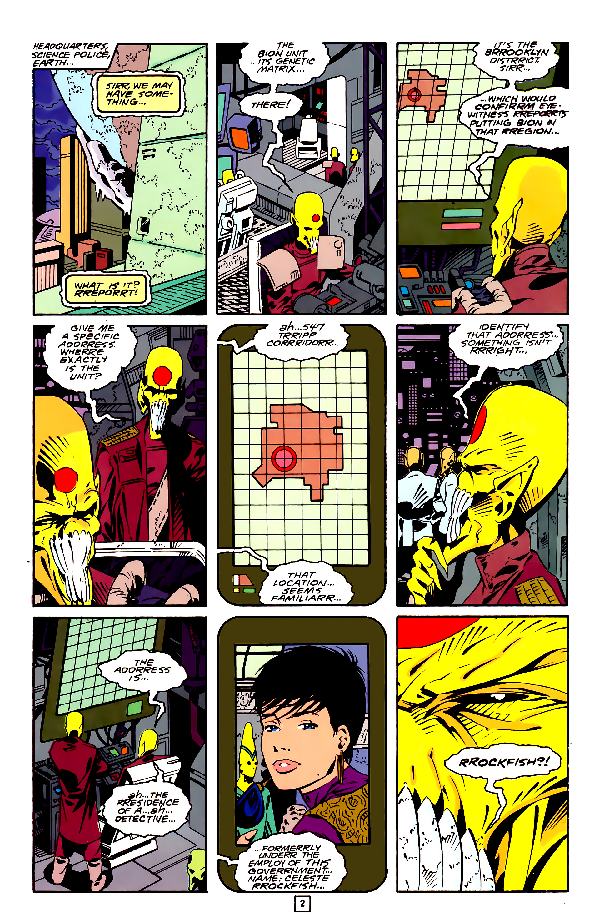Legion of Super-Heroes (1989) 26 Page 2