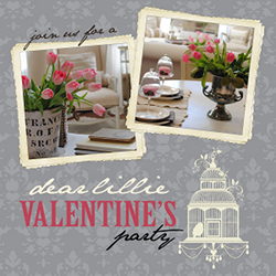 Dear Lillie's Valentine's Link Party