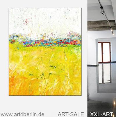 Wohnen mit echter großer Kunst. Ölgemälde und Acrylmalerei. Galerie Berlin.