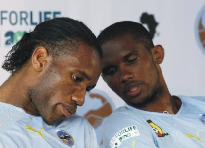 SAMUEL ETO'O VS DIDIER DROGBA: HOUSES, WOMEN, MONEY AND CARS