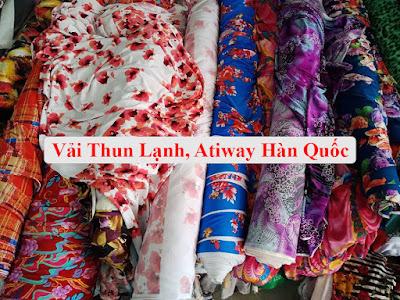 Chất Liệu Vải Atiway Hàn Quốc, Thun Lạnh may đồ bộ mặc nhà thoải mái tại Bình Dương