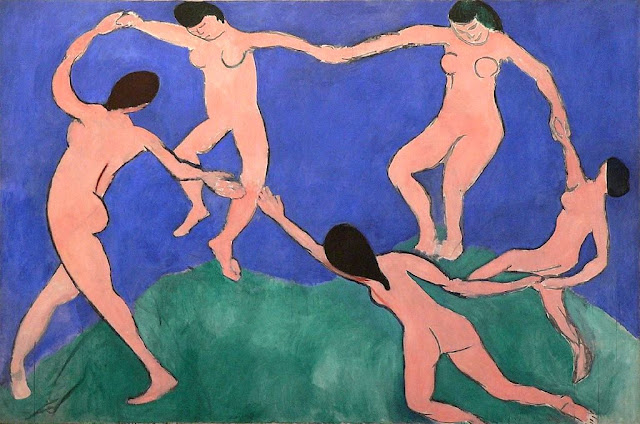 "Henri Matisse ""Taniec I"" (1909) The Museum of Modern Art New York City / MoMa Berlin"