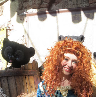 Merida Meet and Greet Magic Kingdom