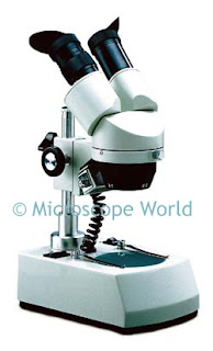 Dual Power Stereo Dissecting Microscope