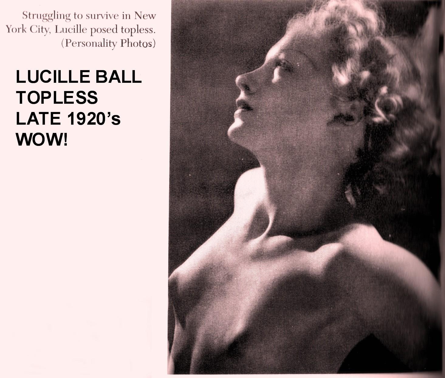 A Blog About Lucille Ball Lucille Ball Topless