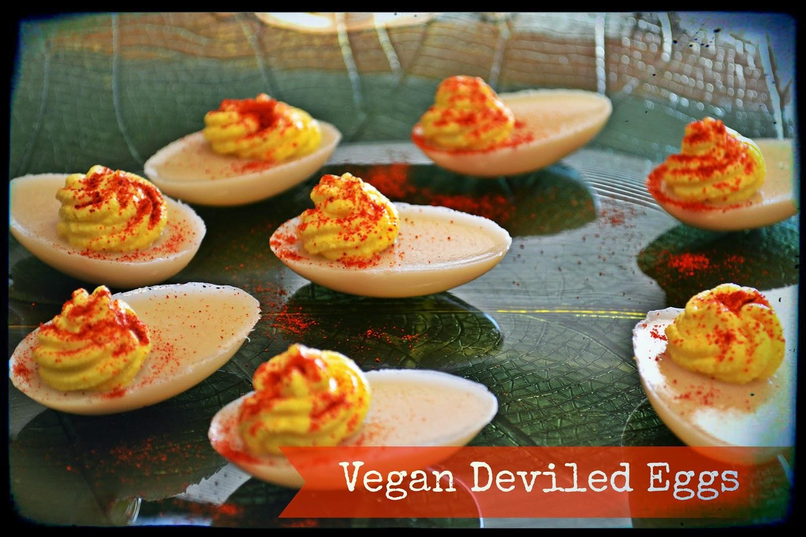 Vegans Have Superpowers Vegan Deviled Eggs
