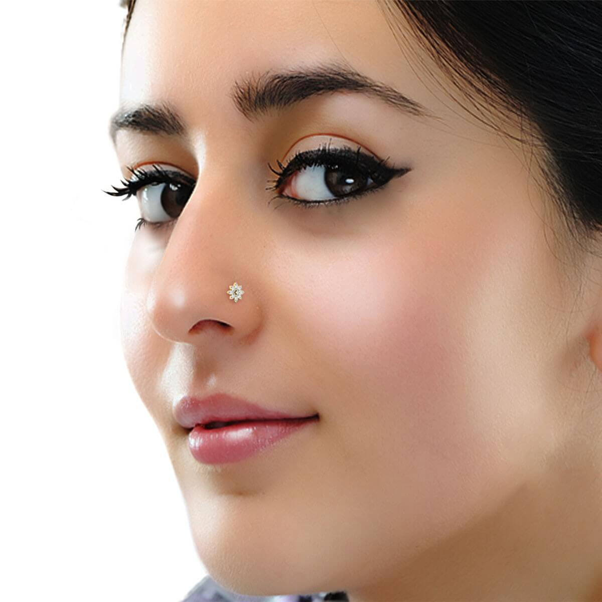 White Pearl Nose Ring
