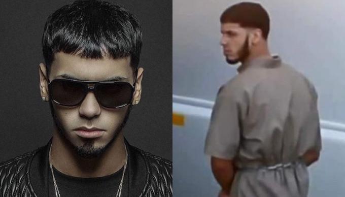 Vuelven a encerrar al cantante boricua Anuel AA en prisión federal