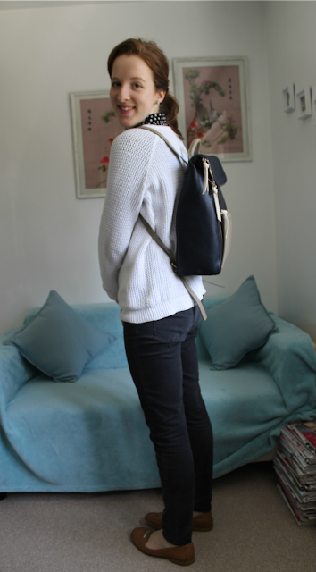 Backpack, Accessorize, Accessorize Backpack, Kira Colourblack backpack, bag, new bag, fashion, fashion blogger