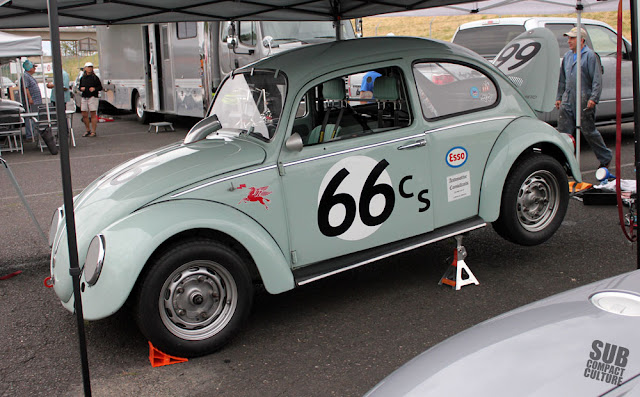 Vintage Volkswagen Beetle Race Car